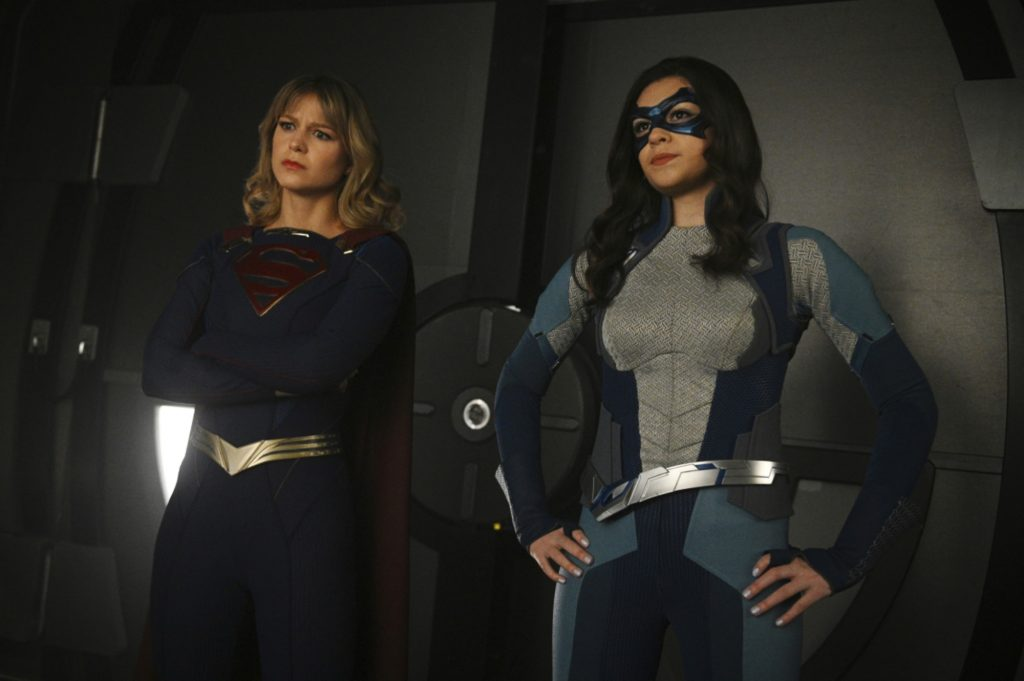 Supergirl's Melissa Benoist & Nicola Maines